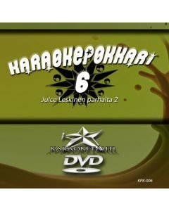 KARAOKEPOKKARI  Vol 6 DVD - Juice Leskinen