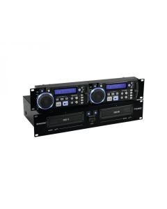OMNITRONIC XCP-2800 Tupla CD-soitin, Soittimessa
