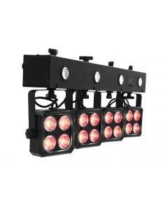 EUROLITE LED KLS-180 Compact Light Set 4 x RGBW heittimet
