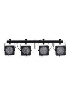 EUROLITE LED KLS-200 RGB DMX 4 spotin valosetti