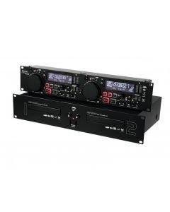 OMNITRONIC CMP-2000 Tupla DJ CD-soitin, MP3 Dual