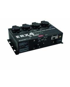 EUROLITE ERX-4 DMX-ohjattava kytkinpakki, jolla