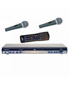 VOCOPROBUNDLE DVX-668K Karaoke DVD set USB DVD