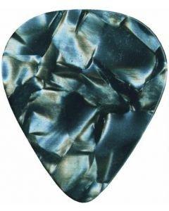 DIMAVERY Plektra 0,71mm medium musta 12kpl Pick