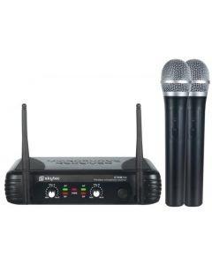 SKYTEC STWM722 Langaton kahden mikrofonin setti