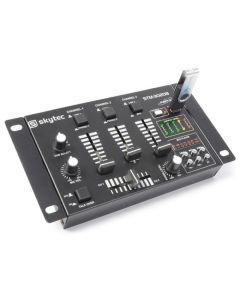 SKYTEC STM-3020 DJ-Mikseri USB on 4-kanavainen