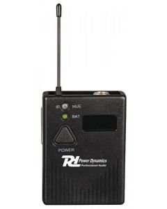 POISTO Powerdynamics Bodypack UHF PDB1 Mini XLR
