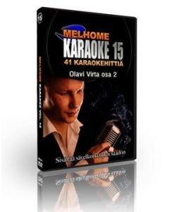 MELHOME Vol 15 Olavi Virta 2 KARAOKE DVD levyllä