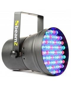 BEAMZ LED 36 RGB spot 15, 55x 10mm LEDs, 8W, DMX