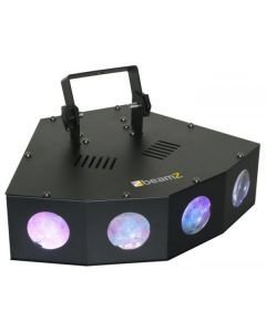 BEAMZ Mini 4 Head Moon LED-valoefekti 72kpl