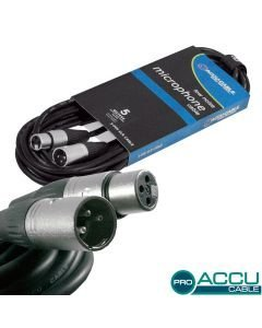 ACCU-CABLE Mikrofonikaapeli 5m