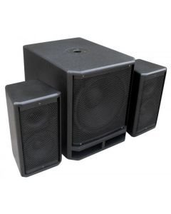 POWERDYNAMICS PD Combo 1800 18 Subwoofer + 2x 10