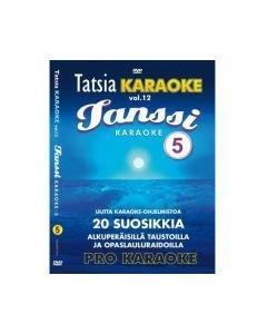 TATSIA Kotikaraoke Vol 12 Tanssi 5 - DVD levyllä