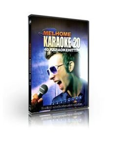 MELHOME Vol 20 KARAOKE DVD levyllä on 40