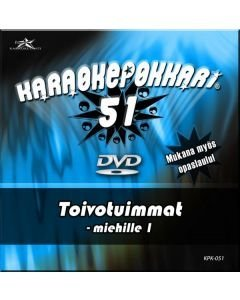 KARAOKEPOKKARI DVD Karaokepokkari 51 -