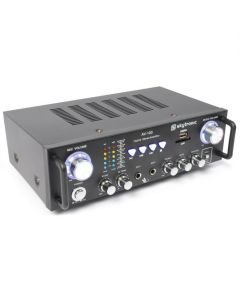 SKYTRONIC AV-100 Mini Stereo Karaoke vahvistin 2x