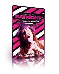 SATURDAYNIGHT Karaoke DVD vol 8 karaoke levyltä