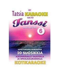 TATSIA Kotikaraoke Vol 13 Tanssi 6 - DVD karaoke