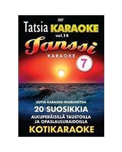 TATSIA Kotikaraoke Vol 14 Tanssi 7 karaoke DVD