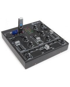 SKYTEC STM-2250 2- 4 kanavainen efekti DJ mikseri