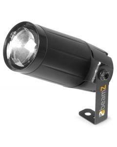 VUOKRAA - LED valkoinen pinspot 6W - valkoinen peilipallospotti - 10 asteen säde