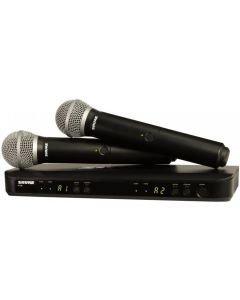 SHURE BLX288E/PG58 langaton Vocal tupla