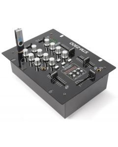 SKYTEC STM-2300 2-kanavainen DJ mikseri USB tikku