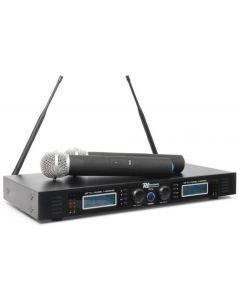 powerdynamics-pd732h-2x16-kanavainen-langaton tupla mikrofoni