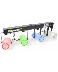 BEAMZ 4-Some LED-valosetti 4x57 RGBW DMX
