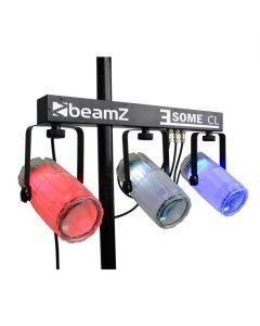 BEAMZ 3-Some Valosetti 3x 57 RGBW LED-valoefekti