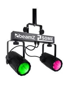 BEAMZ 2-Some LED-valosetti 3x57 RGBW LEDs Kahden