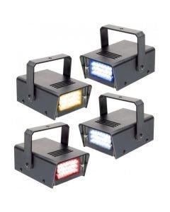 BEAMZ MINI strobo setti 4x 24kpl 5mm LEDeillä!