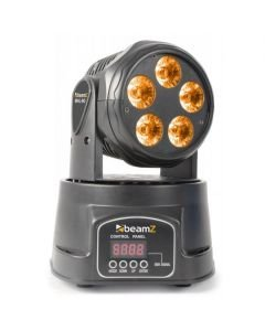 BEAMZ MHL-90 Mini Moving Head 5x18W HEX LED
