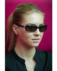 DZN Tyylikkäät aurinkolasit D2249P naisille