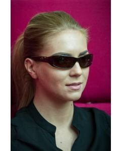 DZN Tyylikkäät aurinkolasit D2226P naisille ja