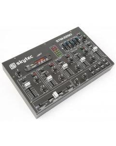 SKYTEC STM-2290 8-kanavainen efekti DJ mikseri USB