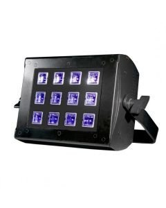 ADJ UV Flood 36 12x3W UV-valaisin 36W LED 57 DMX