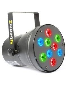 BEAMZ POISTO LED Par 36 DMX RGB 9x 1W spotti 13