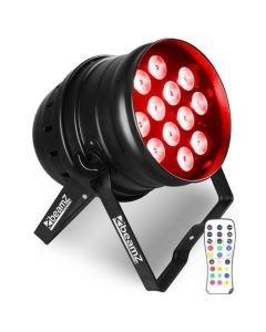BEAMZ BPP200 PAR 64 12x18W HEXA LED IR RGBAWUV