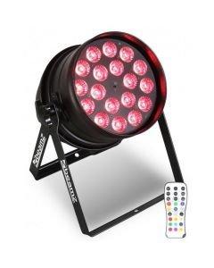 BEAMZ BPP205 PAR 64 18x15W PENTA LED IR RGBAW