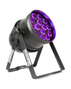 BEAMZ BPP230 LED UV PAR 64 - 14x15W IR DMX