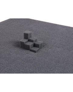 ROADINGER Akustinen Pyramidi pehmuste, joka