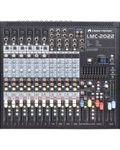 OMNITRONIC LMC-2022FX USB PA Mikseri 6x mic sekä