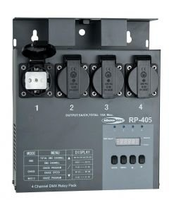 SHOWTEC RP-405 MKII katkaisin switch pakki 3x 5A