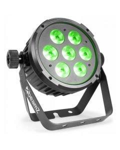BEAMZ BT270 LED FLAT-PAR Spotti 7x6W RGBW
