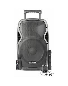 VONYX AP1200PA aktiivikaiutin 600W akulla 12 + BT
