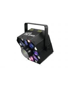 EUROLITE LED FE-2000 Hybrid Laser Flower kolme efektiä yhdessä
