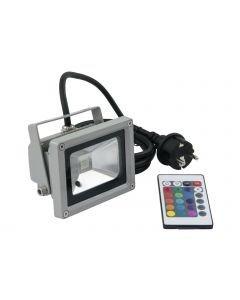 EUROLITE LED IP65 FL-10 LED-RGB valo sisä- ja ulkokäyttöön