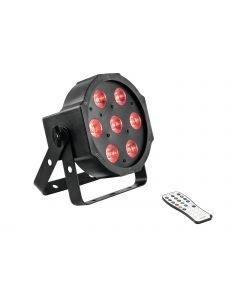 EUROLITE SLS-7 HCL Floor LED-valaisin 7x 10W RGBAW+UV