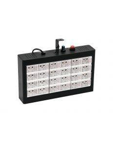 EUROLITE LED Strobe 24x 1W moniväriset LEDit